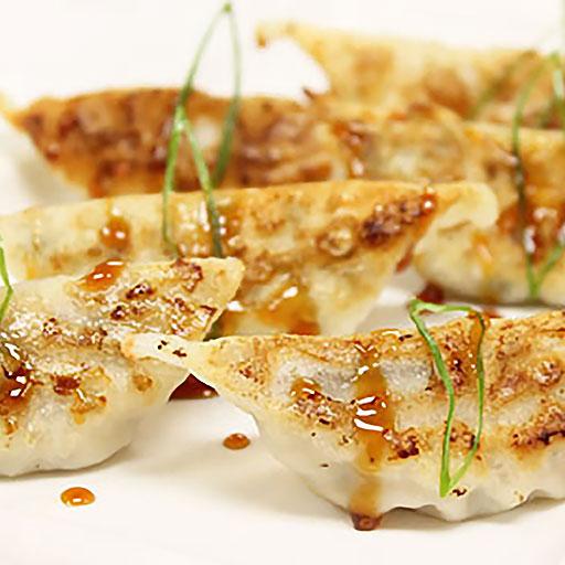 Scallop Potstickers Recipe — Dishmaps